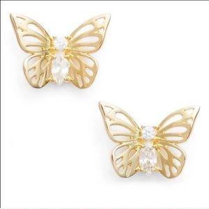 ✨Kate spade butterfly earrings ✨